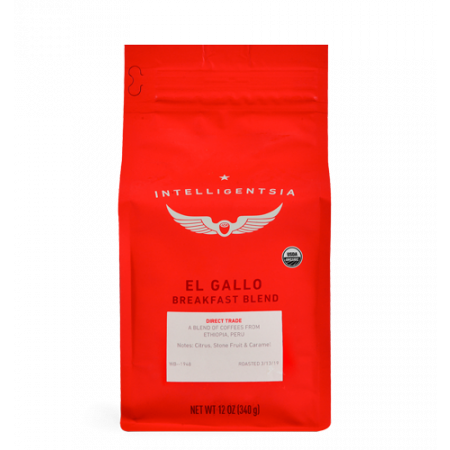 El Gallo Organic Breakfast Blend