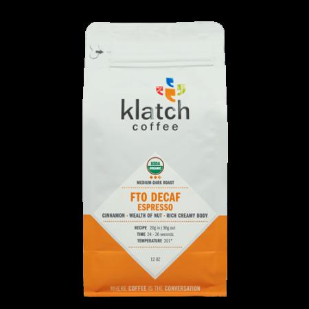 Decaf Organic Espresso
