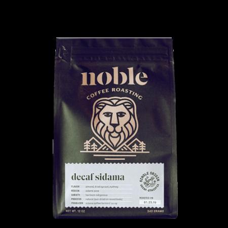 Decaf Ethiopian Sidama Organic