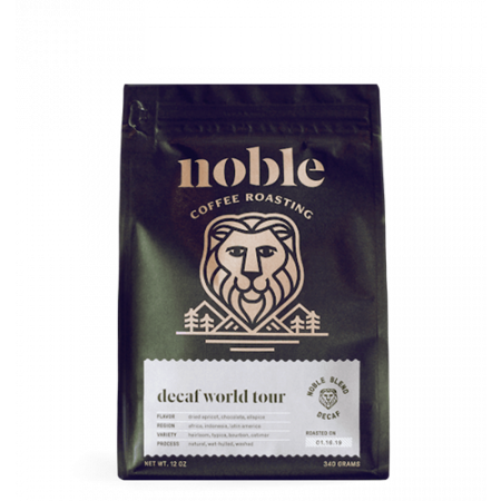 Decaf World Tour Organic Blend