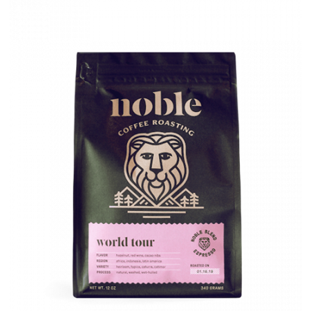 World Tour Organic Espresso Blend