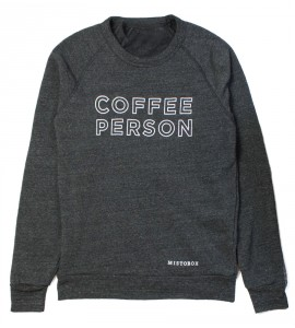 Coffee Person Crewneck